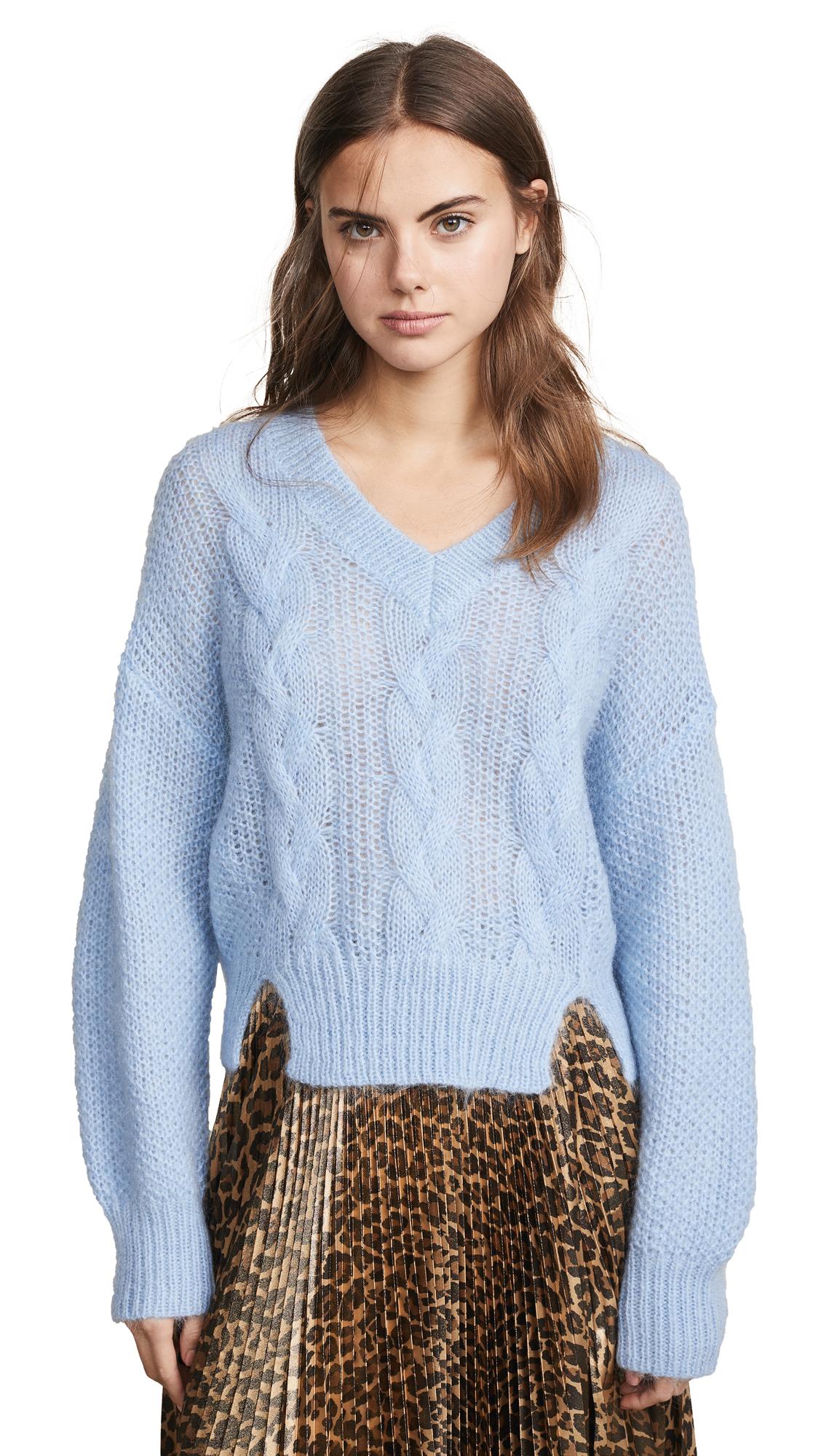 BAUM UND PFERDGARTEN Coralie Sweater - Chambray Blue