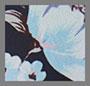 синий/темно-синий цветочный рисунок
