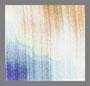 White Blue Floral Blur