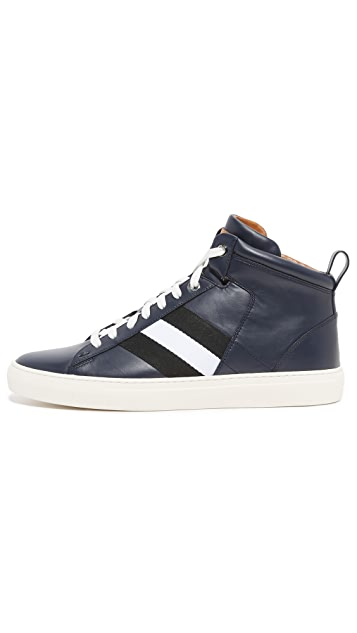 Bally Hedern High Top Sneakers