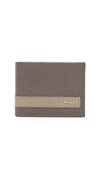 Bally Letrilt Stripe Bifold Wallet