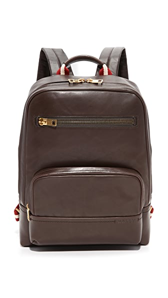 Bally Thunder Leather Backpack