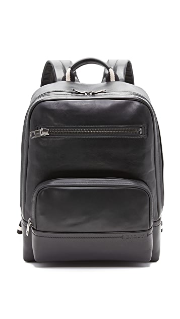 Bally Thunder Leather Backpack