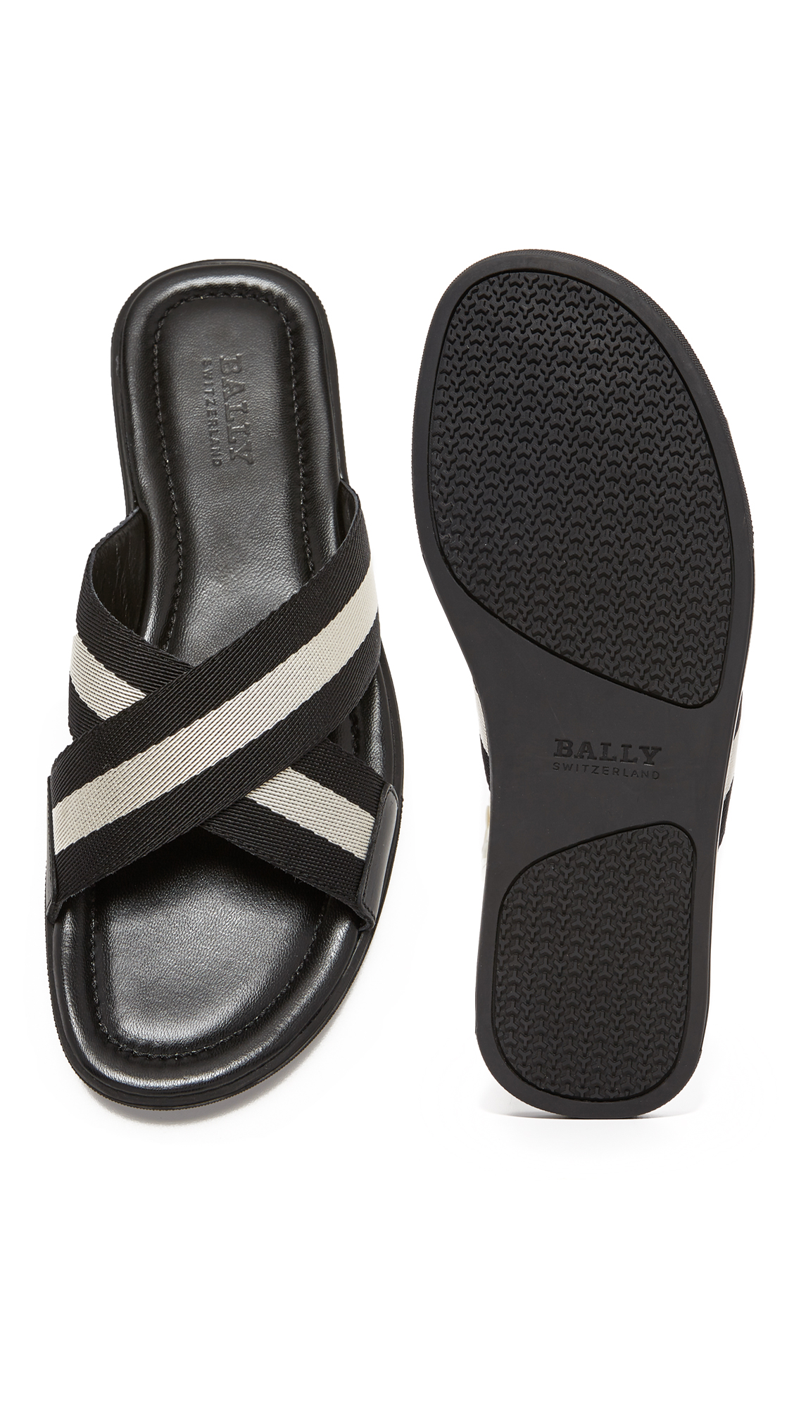61340e084fd3 Bally Bonks Slide Sandals