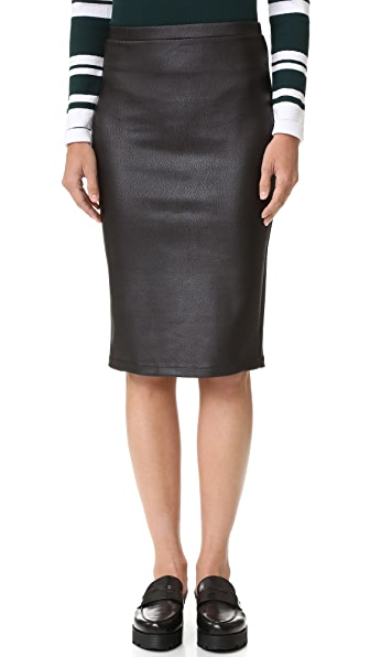 BB Dakota Jack by BB Dakota Devonta Skirt - Black