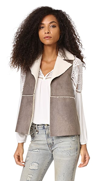 BB Dakota Jack by BB Dakota Delphine Vest - Dark Taupe
