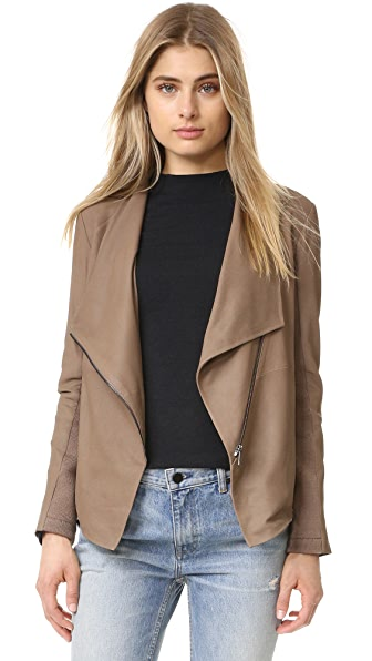 BB Dakota Kenrick Soft Leather Jacket