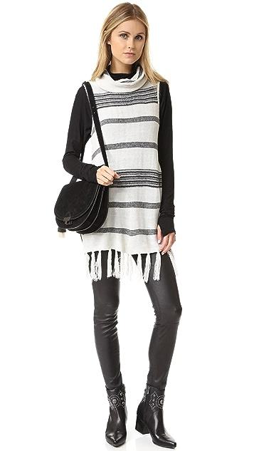 BB Dakota Mercer Turtleneck Sweater Tunic