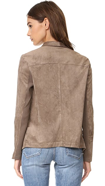 BB Dakota Nicholson Faux Suede Jacket