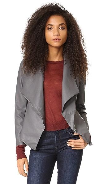 BB Dakota Carmen Vegan Leather Jacket