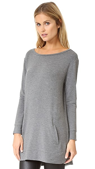 BB Dakota Cash Tunic - Medium Heather Grey
