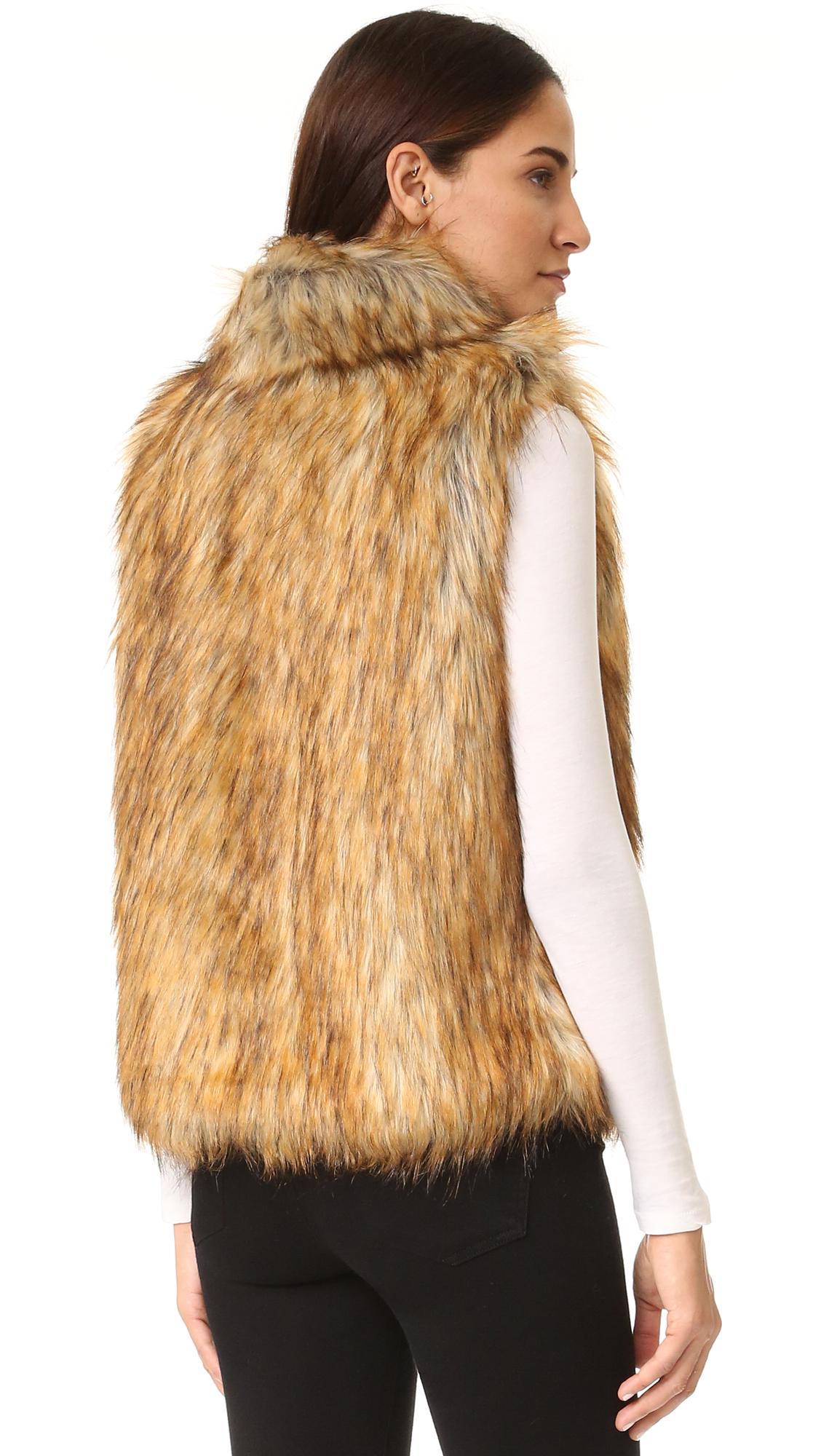 b62b2507a BB Dakota Colton Faux Fur Vest | SHOPBOP