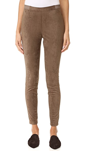 BB Dakota Wilton Faux Suede Leggings