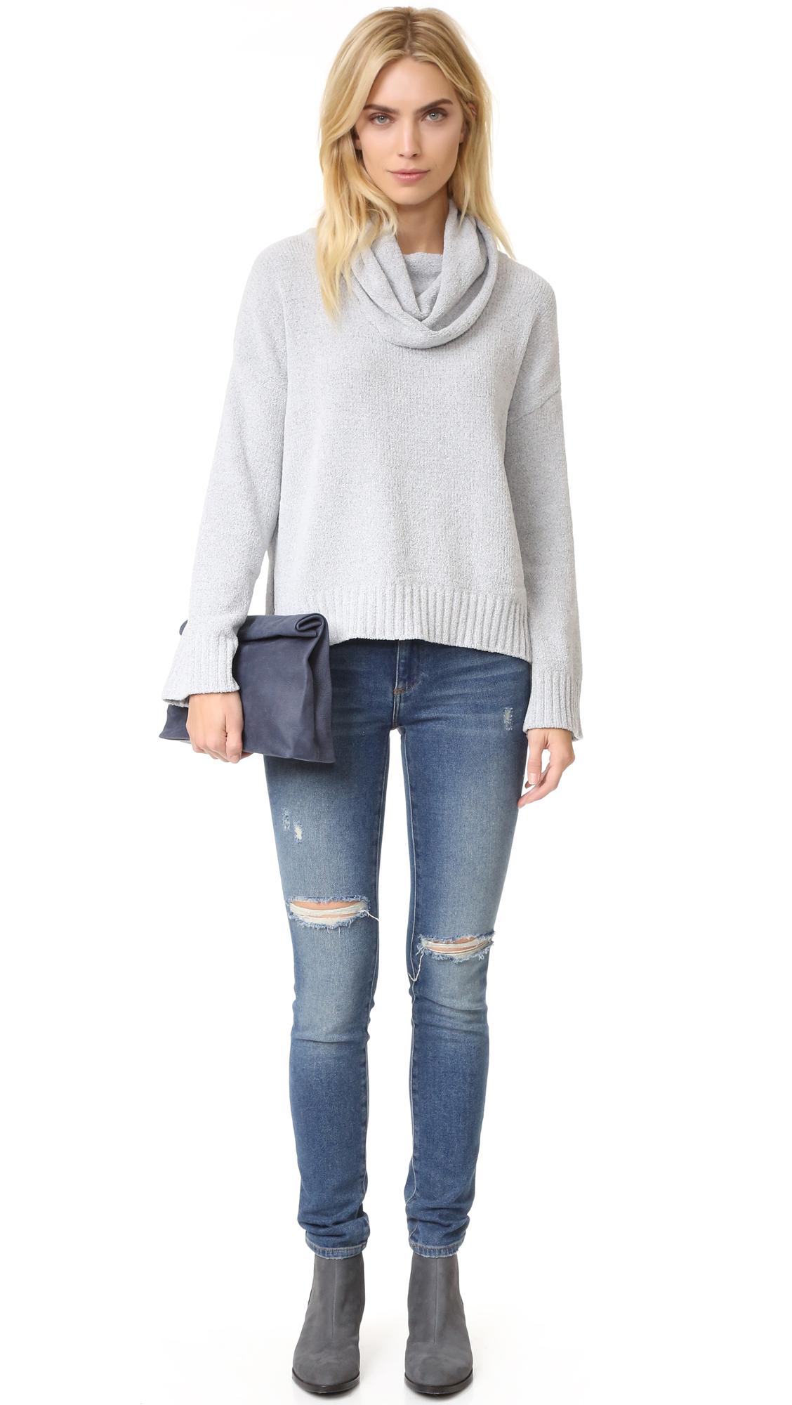 BB Dakota Marcilly Cowl Neck Cropped Sweater | SHOPBOP