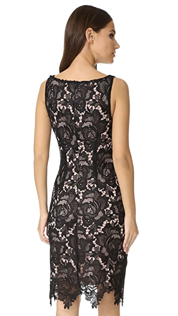 BB Dakota Bristow Midi Lace Dress