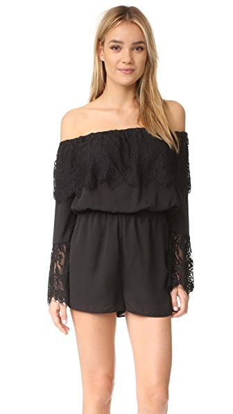BB Dakota Cavell Romper - Black