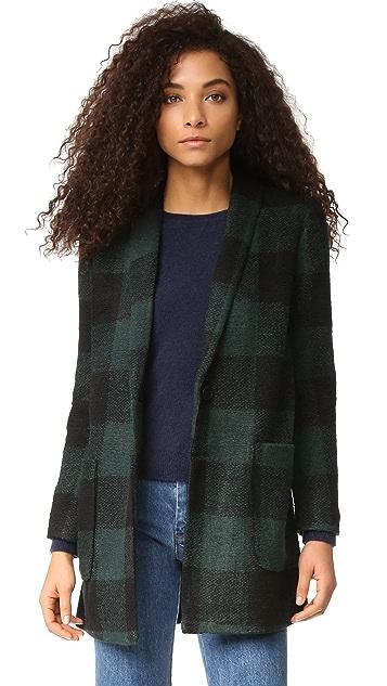 BB Dakota Holton Plaid Coat