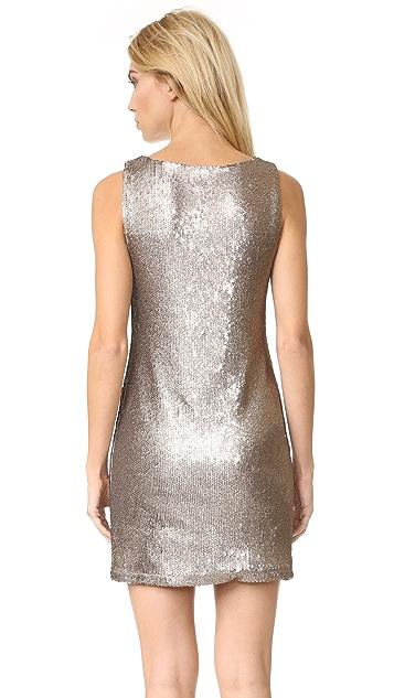 BB Dakota Penley Sequin Shift Dress