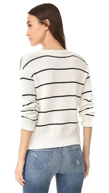 BB Dakota Leary Striped Sweater