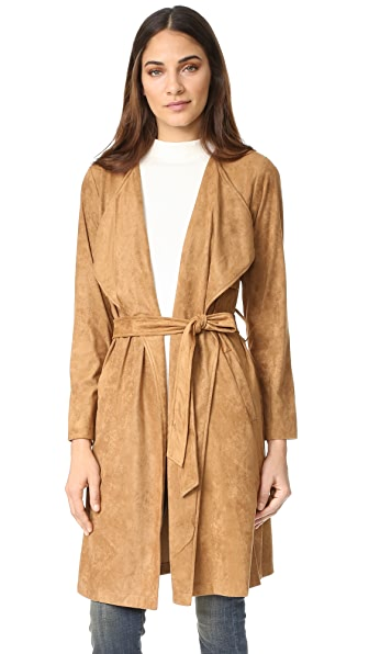 BB Dakota Faux Suede Coat