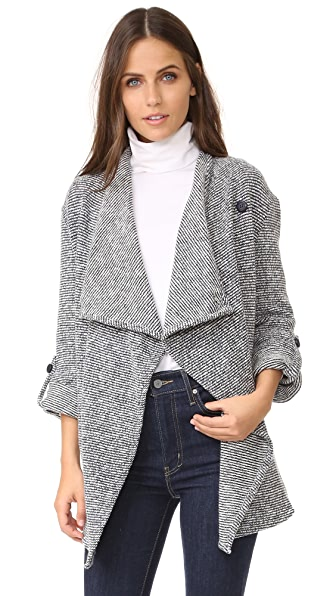 BB Dakota Anitra Drape Front Jacket