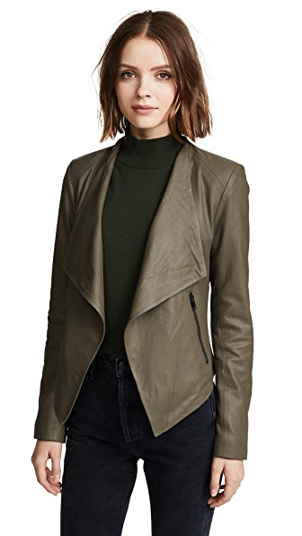 BB Dakota Siena Soft Leather Jacket at Shopbop