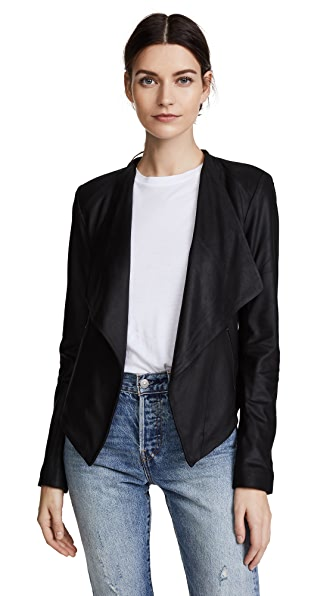 BB Dakota Siena Soft Leather Jacket - Black