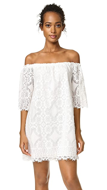 BB Dakota Halden Off Shoulder Lace Dress
