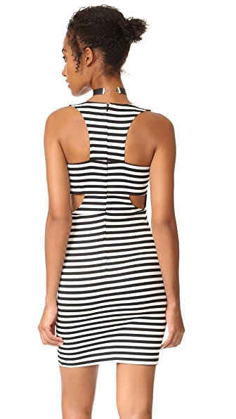 BB Dakota Jack by BB Dakota Geno Stripe Dress