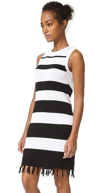 BB Dakota Jack by BB Dakota Dri Stripe Sweater Dress