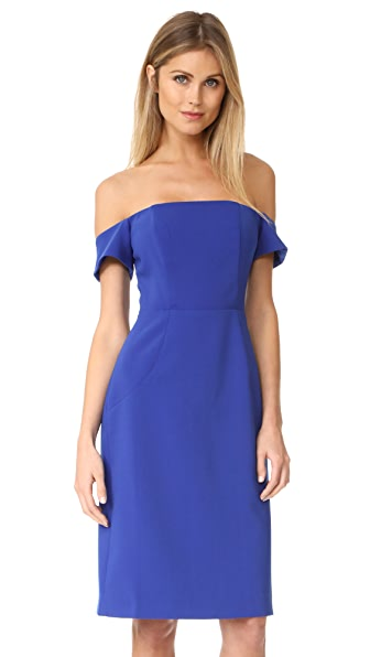 BB Dakota R.S.V.P by BB Dakota Reaghan Dress In Electric Blue