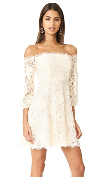 RSVP by BB Dakota Jasmin Off Shoulder Dress