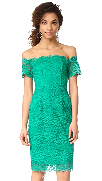 BB Dakota RSVP Moreen Off Shoulder Bustier Dress