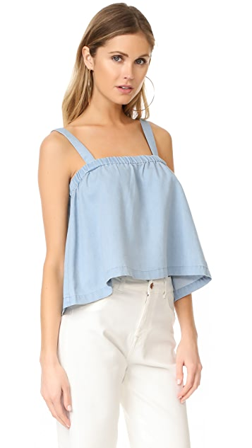 BB Dakota Jack by BB Dakota Chet Chambray Swing Top