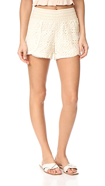 BB Dakota Jack by BB Dakota Jacoby Crochet Lace Shorts