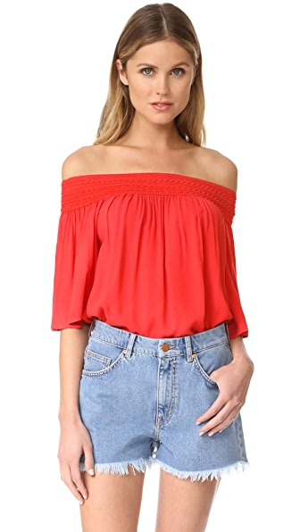 BB Dakota Jack by BB Dakota Lin Off Shoulder Top