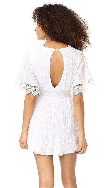 BB Dakota Ethel Smocked Waist Dress