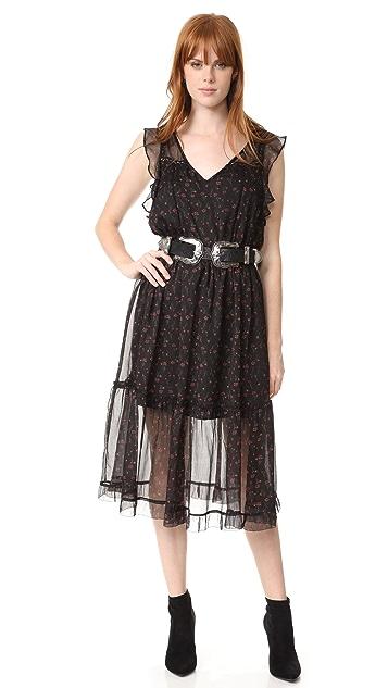 BB Dakota Cal Floral Printed Dress