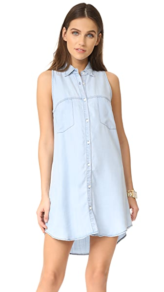 BB Dakota Chance Denim Shirtdress at Shopbop
