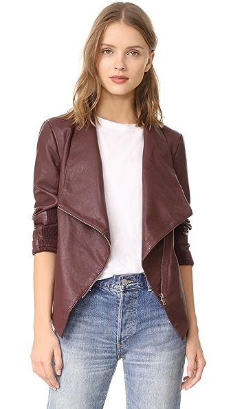 BB Dakota Gabrielle Textured Jacket In Fig