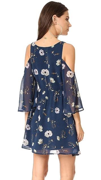 BB Dakota Rylie Camellia Chiffon Dress