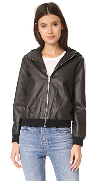 BB Dakota Lucca Hooded Jacket - Black