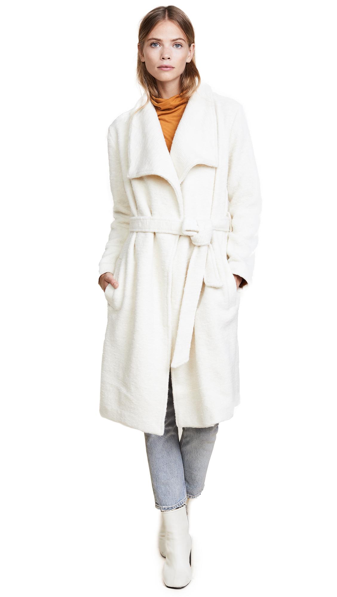 BB Dakota Isaac Coat - Oyster