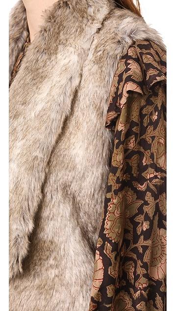 BB Dakota Jack by BB Dakota Dwight Faux Fur Vest