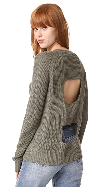 BB Dakota Jack by BB Dakota Percival Sweater - Light Olive