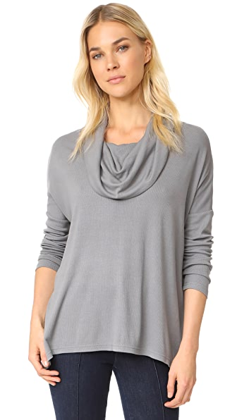 BB Dakota Jack by BB Dakota Hogen Top In Charcoal Grey