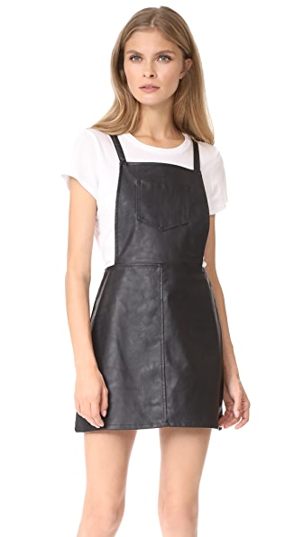 BB Dakota Jack by BB Dakota Robison Faux Leather Dress