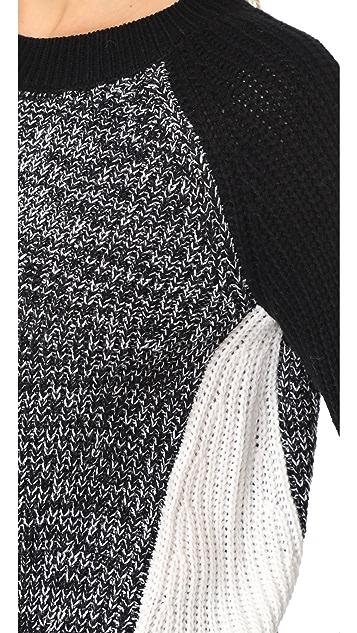 BB Dakota Jack Flynne Colorblock Sweater