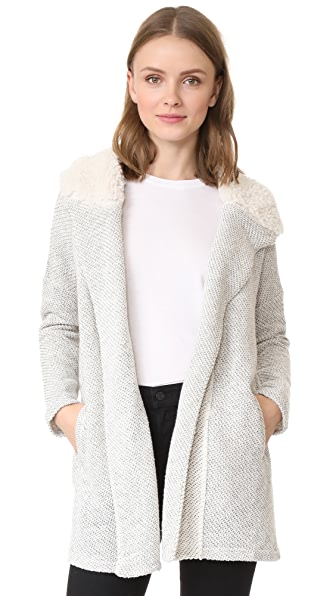 BB Dakota Connelly Slub Terry Duster - Ghost Grey