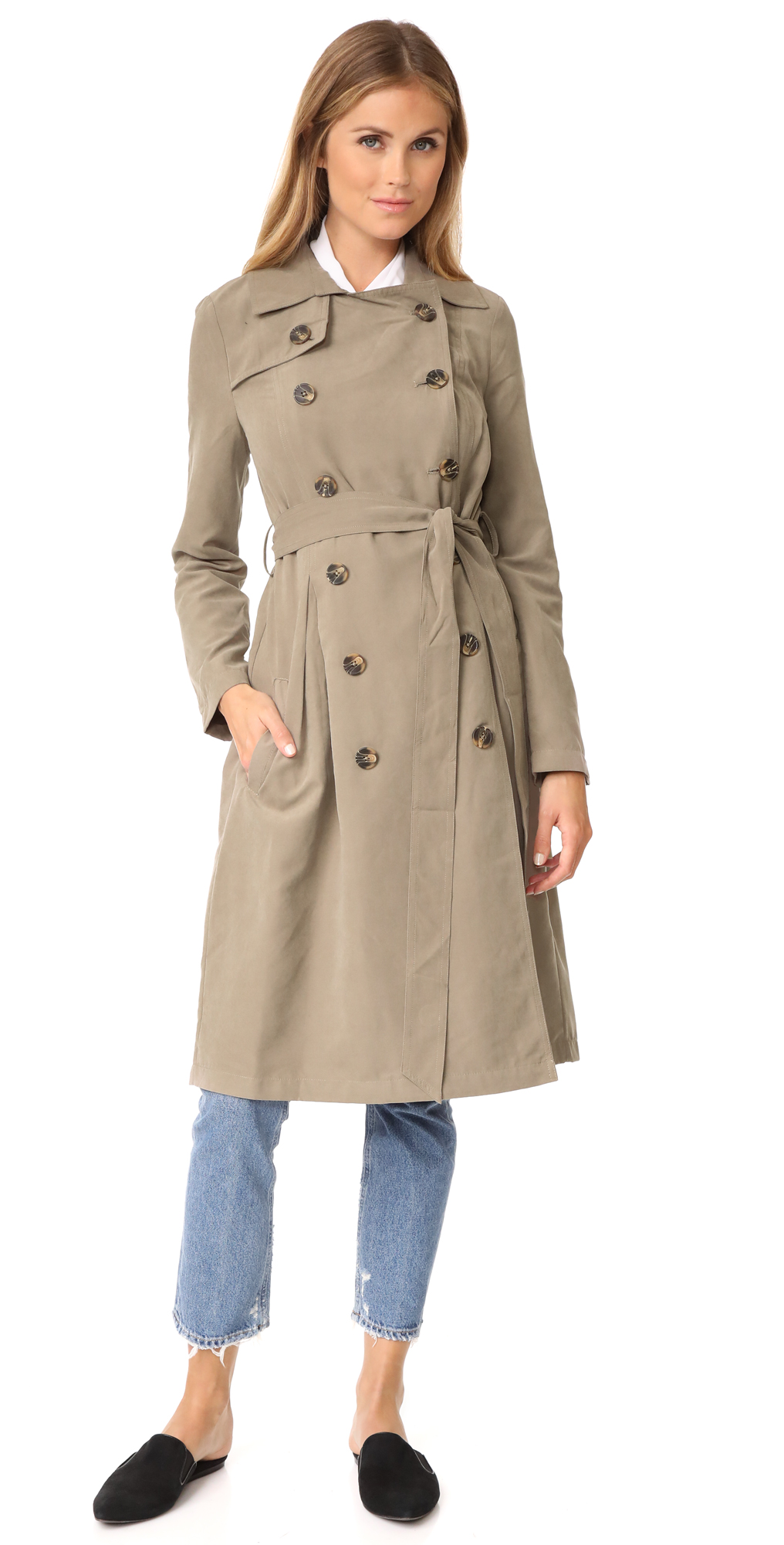 Jack by BB Dakota Lexia Trench Coat BB Dakota